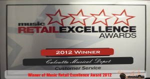 Music Retails Excellence Award 2012