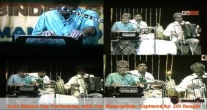 Manna Dey Playing Our Harmonium In DD